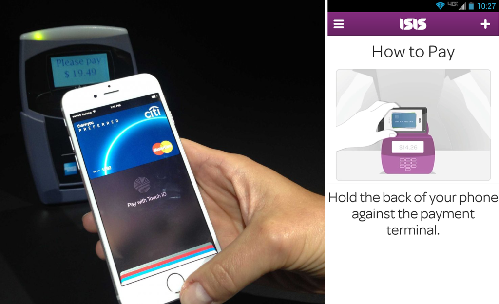 Apple Pay versus Isis